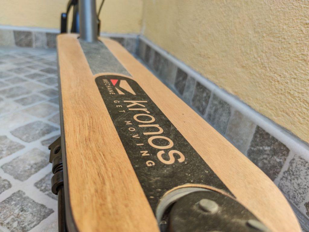 Pedana in legno Mechane
